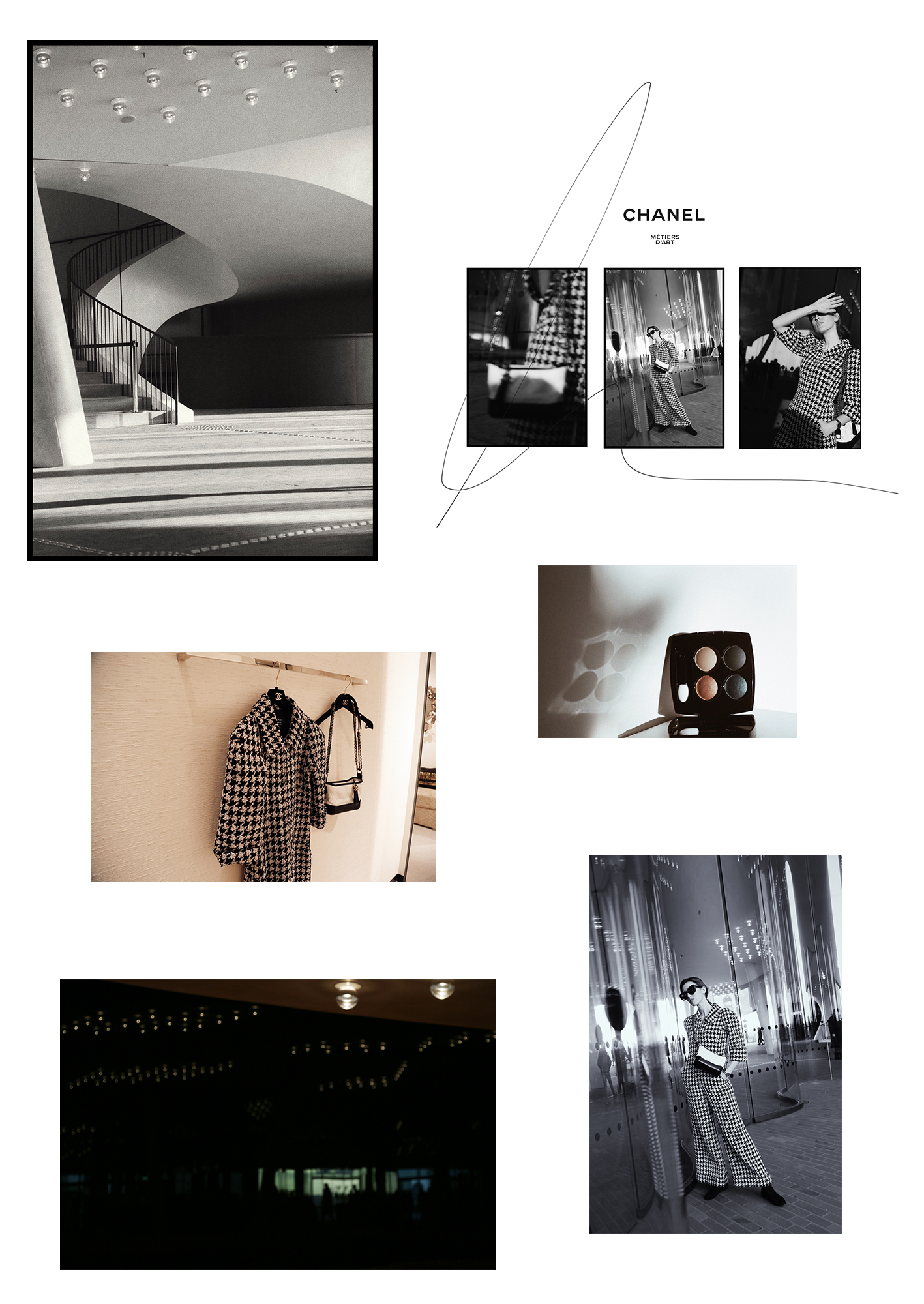 A day with CHANEL in Hamburg by Sylvia Haghjoo